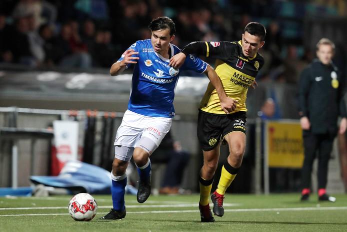 Mats Deijl in actie tegen Roda JC.