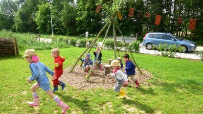 Leerlingen ravotten voortaan in groene speeltuin