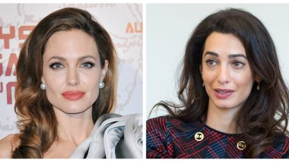 """Angelina Jolie is stikjaloers op Amal Clooney"""