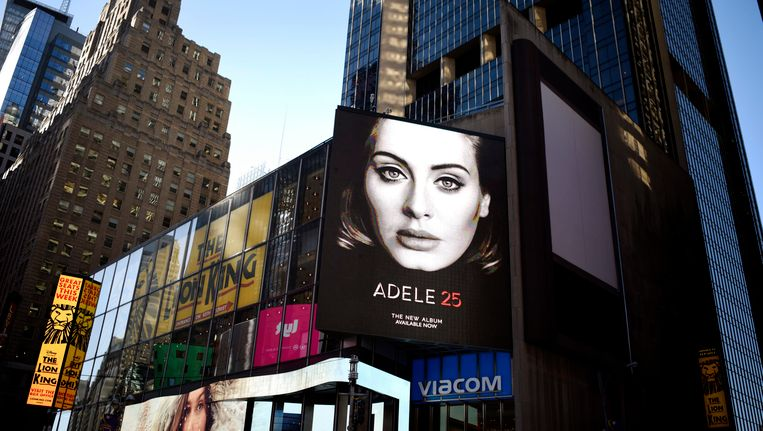 Adeles album 25 was lange tijd niet via Spotify te beluisteren, maar nu wel. Beeld null