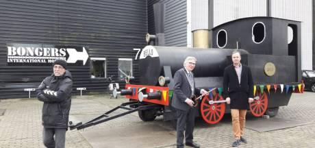 Replica van treintje Bello is net aan sloop ontkomen in Wageningen