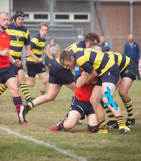 Wind blaast rugbyers RC Betuwe na rust omver