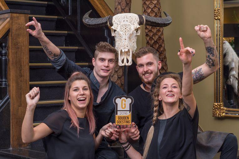 L'Histoire 32 won de Gouden Goesting-award.