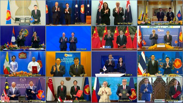 Quinze pays d'Asie et du Pacifique ont signé dimanche un important accord commercial, promu par la Chine, à l'occasion de la clôture d'un sommet virtuel de l'ASEAN (Association des nations de l'Asie du Sud-Est) qui avait débuté jeudi.