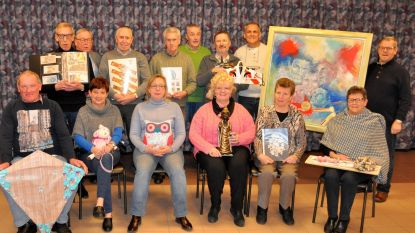 Hobbyclub KWB Heilig Hart stelt tentoon: van portretten Greg Van Avermaet tot windvliegers