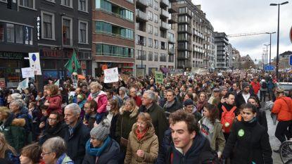 Brussel is zondag opnieuw decor van grote klimaatmars
