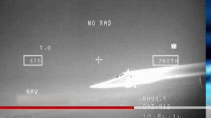 Defensie toont hoe F-16's Russische bommenwerpers onderschepten