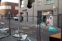 Schade veroorzaakt door plofkraak Kaatsheuvel.