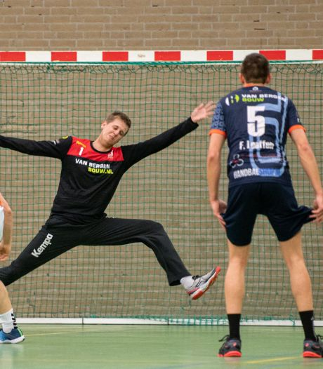 Osse handballers al drie maanden in de wachtkamer: Dynamico-keeper Horbach wacht af