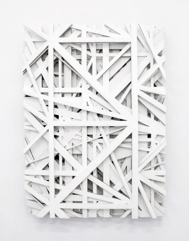 Mini Galerie, Graphic Surgery: Increment M7 (2017) Beeld courtesy Mini Galerie