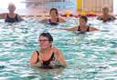 Deelnemers aan Aquavaria, een soort trimzwemmen voor ouderen tijdens de Sportweek (archieffoto).