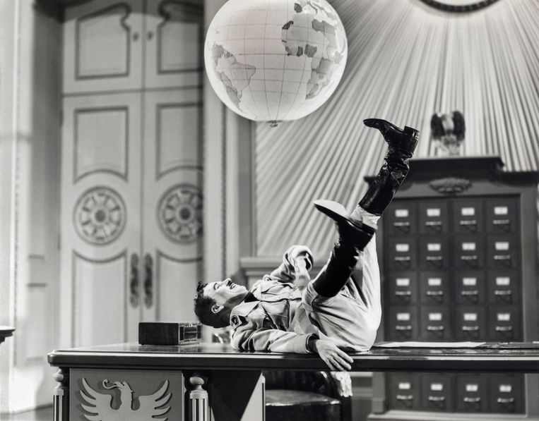 The Great Dictator (1940) Beeld null