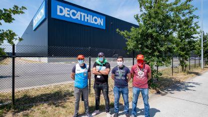 """Personeel distributiecentrum Decathlon legt werk neer: """"Werken in onveilige en onwettige omstandigheden"""""""
