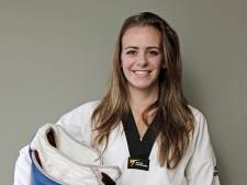 In bad zweten om af te vallen en ijsblokjes eten; Bodine Schoenmakers doet alles voor taekwondo
