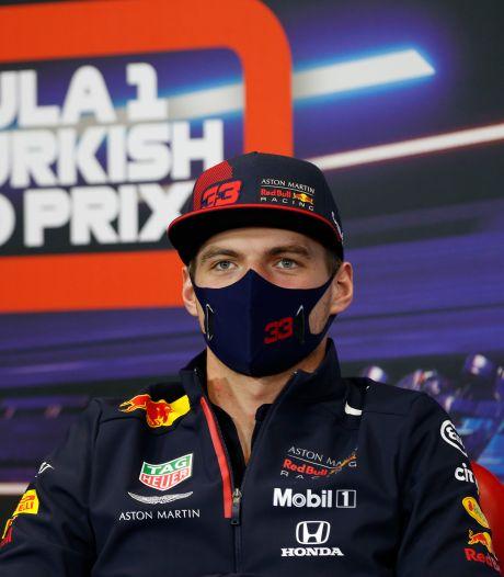 Verstappen wil opheldering over het gladde asfalt in Istanbul: 'Grip kan niet slechter'
