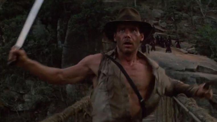 Om 20.30 uur op Veronica: Indiana Jones and the Temple of Doom (Steven Spielberg, 1984). Beeld