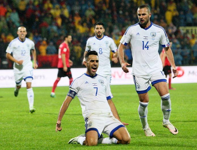 Eran Zahavi in het shirt van Israël.