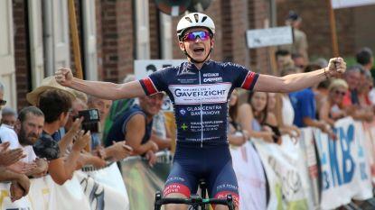 Eerste zege voor Luca Van Boven