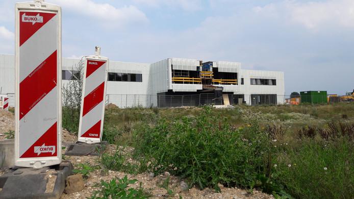 De nieuwbouw van het Merletcollege in Cuijk.