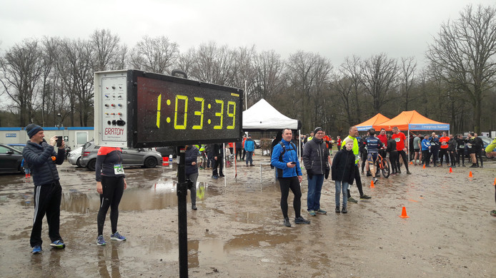 Finish van de Gulbergen Trail