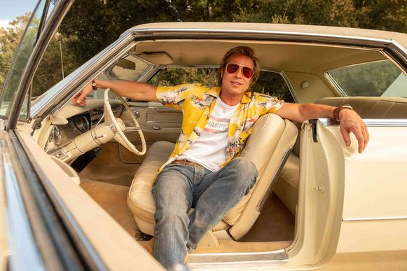 Brad Pitt als stuntman in 'Once Upon A Time ... In Hollywood'