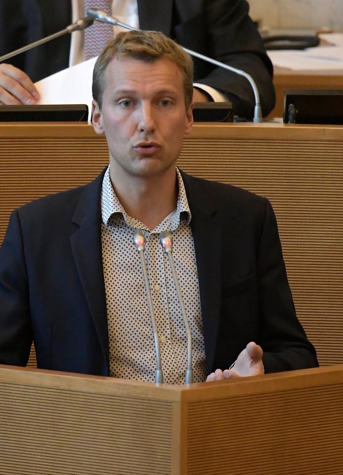 Matthieu Daele, député au Parlement de la fédération Wallonie-Bruxelles