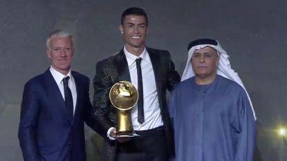 Cristiano Ronaldo in Dubai verkozen tot voetballer van 2018, Deschamps is trainer van het jaar