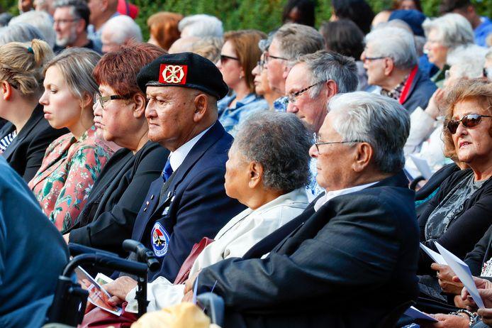 De Indië-herdenking in Geldrop trok enkele honderden belangstellenden