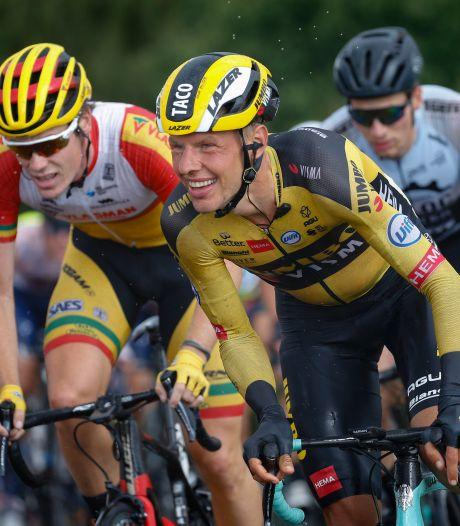 Knokken voor plekje in peloton: 'Gaan jongens tussenuit vallen die niet klaar waren met wielrennen'