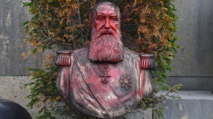 Standbeeld Leopold II in Tervuren opnieuw beklad