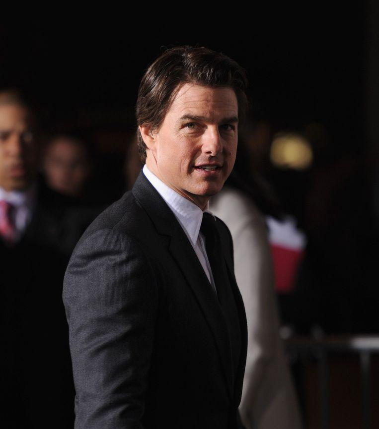 Tom Cruise: van gelauwerde filmster naar doorgeslagen gek in minder dan één minuut. Beeld afp