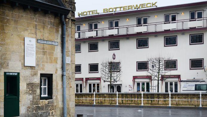 Het hotel waar de ontucht plaatsvond