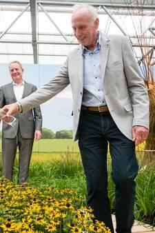 Een tuin in teken van karakter en carrière van Joop Zoetemelk