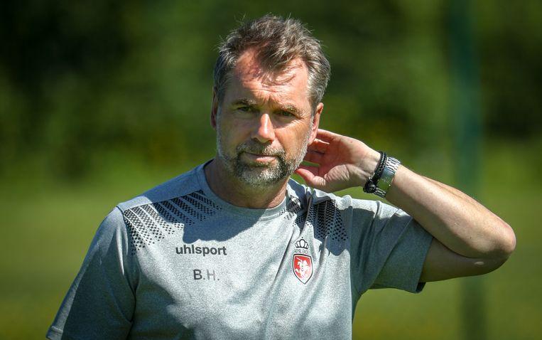 Trainer Bernd Hollerbach.