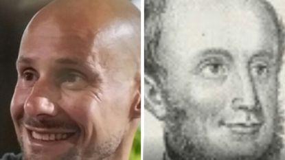 Danira lijkt op Maria Magdalena en Tom Boonen op koning Willem II van Nederland: deze BV's en schilderijen zijn als twee druppels water
