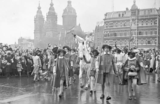 Sinterklaas eind jaren 40