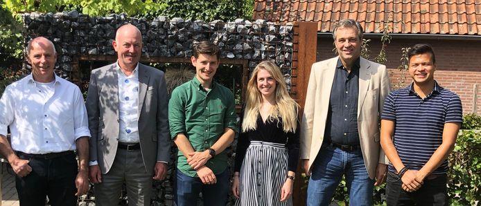 Het team van CodeSkillz: Henk Cloudt, Hen Sackers, Glenn Bergmans, Laura Nijenhuis, Erwin van den Bosch en Joris van Rijn.