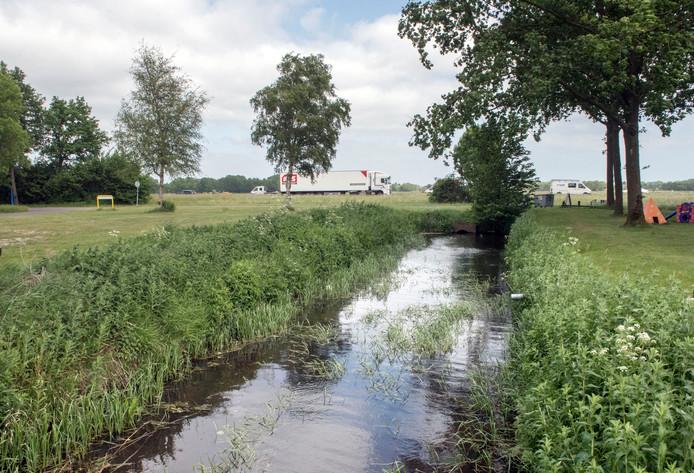 De Volenbeek wordt in het plan van de stichting NMP deels teruggebracht in oude staat.