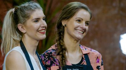 Anne-Sophie en Mira stoten met hoogste score als vierde duo door in 'Mijn Keuken Mijn Restaurant'