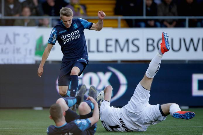 Martin Ødegaard, de grote man bij Vitesse.
