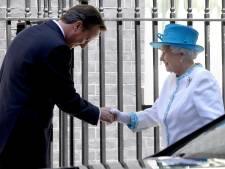 Queen boos op oud-premier David Cameron: 'Ik ben mogelijk te ver gegaan'