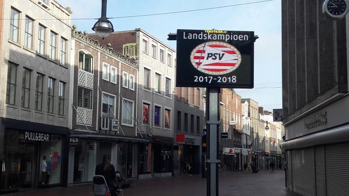 Eindhoven wordt klaargemaakt voor huldiging landskampioen PSV.