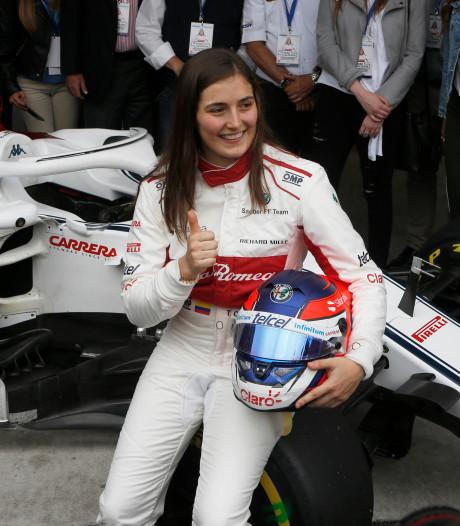 Tatiana Calderon eerste vrouw in de Formule 2