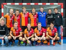 Tien goals levert Oranje-Rood derde plaats op NK zaal op