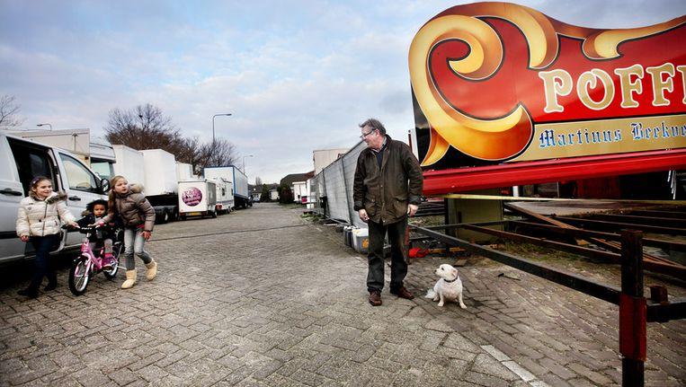 Martinus Beekvelt: 'Wij ondernemers hebben meer ruimte nodig met onze wagens en attracties.' Beeld Jean-Pierre Jans (www.jeanpierrejans.nl)