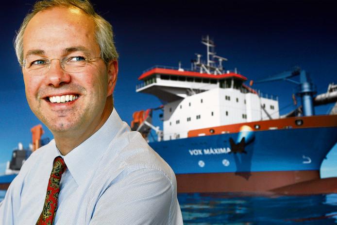 Pieter van Oord, directeur baggerconcern Van Oord.