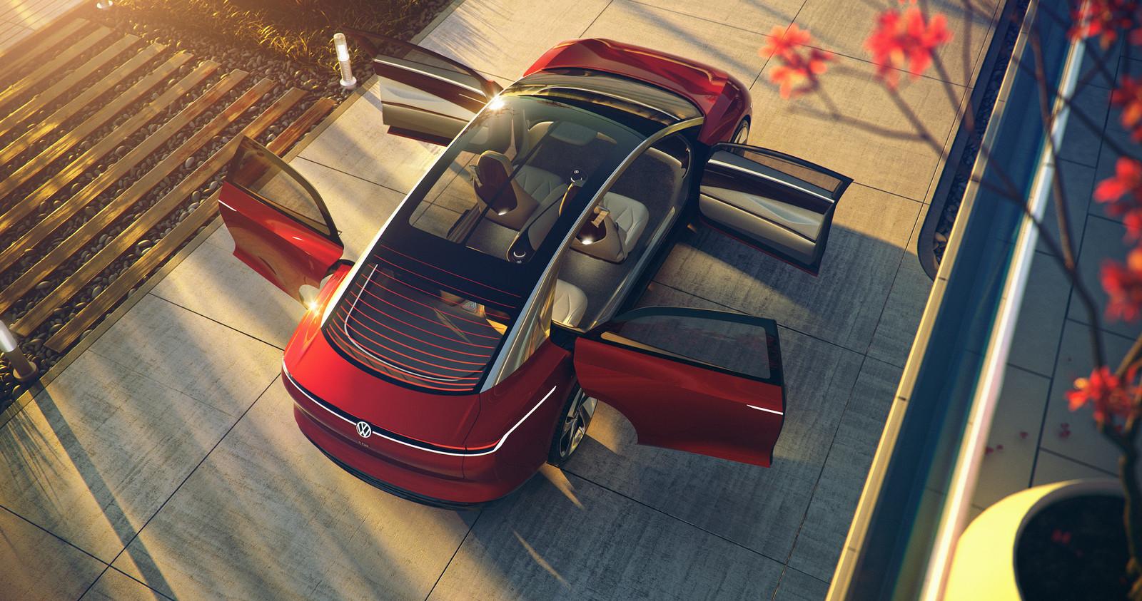 I.D. Vizzion, Volkswagens concept van een luxueuze, zelfrijdende, elektrische limousine