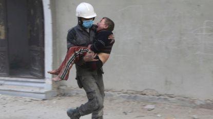 Zestien schoolkinderen gedood in Syrië nadat luchtaanval hun schuilplaats raakt