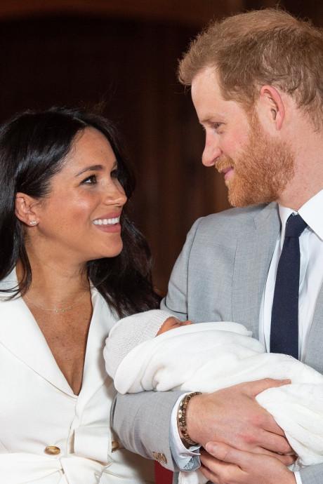 Le fils de Meghan Markle et du prince Harry sera baptisé dans l'intimité