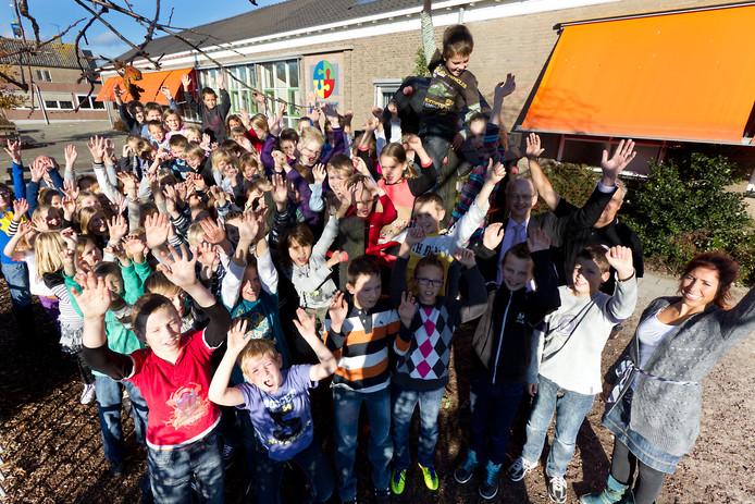 Basisschool De Meent in Woerdense Verlaat, archieffoto.